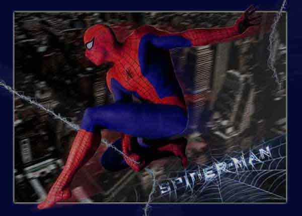 »Spiderman in Space«